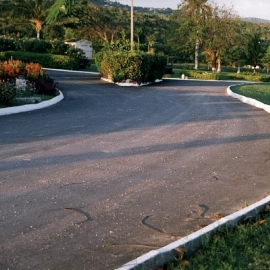 Private family development in Barrett Town, Montego Bay, Jamaica W.I.